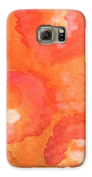 Tuscan Roses Galaxy S6 Case by Linda Woods