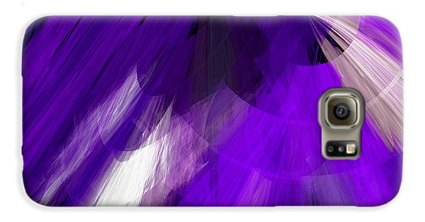Tutu Stage Left Abstract Purple Samsung Galaxy Case by Andee Design