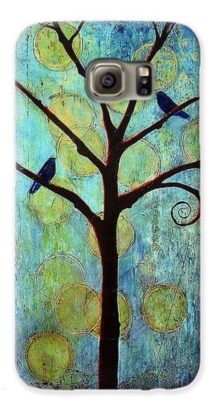 Twilight Tree Of Life Galaxy S6 Case by Blenda Studio