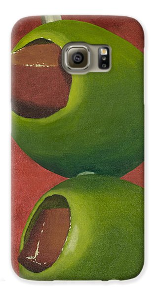 Two Olives In Search Of A Bloody Mary Galaxy S6 Case by Garry McMichael