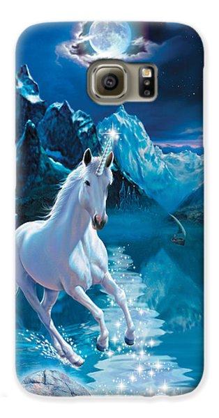 Unicorn Galaxy S6 Case by Andrew Farley