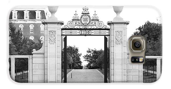 University Of Arkansas Centennial Gate Galaxy S6 Case by University Icons