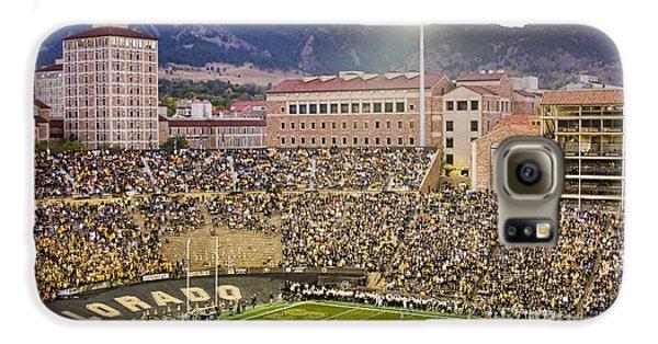 University Of Colorado Boulder Go Buffs Galaxy S6 Case by James BO  Insogna