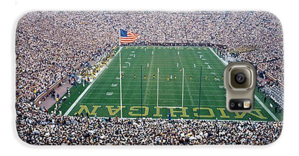 University Of Michigan Football Game Galaxy S6 Case by Panoramic Images