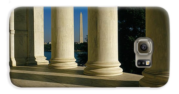 Usa, District Of Columbia, Jefferson Galaxy S6 Case by Panoramic Images