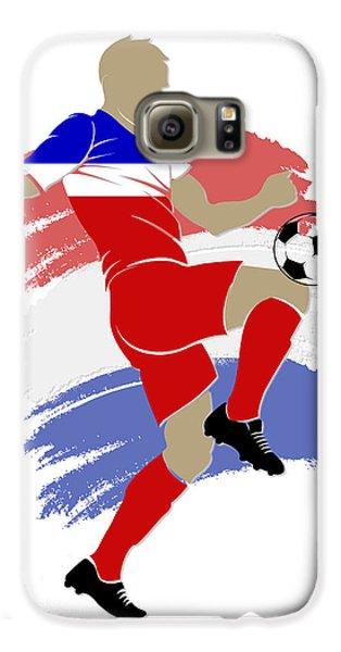 Usa Soccer Player Galaxy S6 Case by Joe Hamilton
