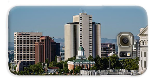 Utah State Capitol Building, Salt Lake Galaxy S6 Case by Panoramic Images