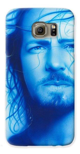 Eddie Vedder - ' Vedder ' Galaxy S6 Case by Christian Chapman Art