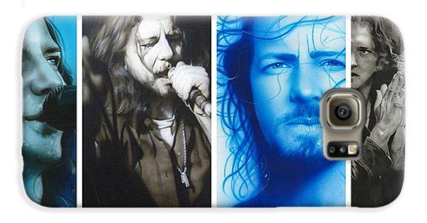 Eddie Vedder - ' Vedder Mosaic I ' Galaxy S6 Case by Christian Chapman Art