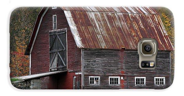 Vermont Barn Art Galaxy Case by Juergen Roth