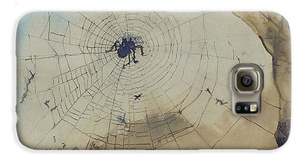 Vianden Through A Spider's Web Galaxy S6 Case by Victor Hugo