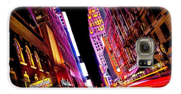 Vibrant New York City Galaxy S6 Case by Az Jackson
