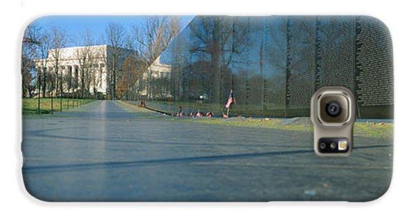 Vietnam Veterans Memorial, Washington Dc Galaxy S6 Case by Panoramic Images