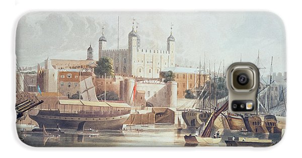 View Of The Tower Of London Galaxy S6 Case by John Gendall
