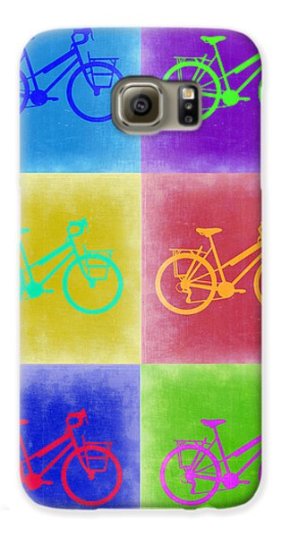 Vintage Bicycle Pop Art 2 Galaxy S6 Case by Naxart Studio