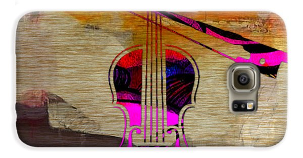 Violin And Bow Galaxy S6 Case by Marvin Blaine