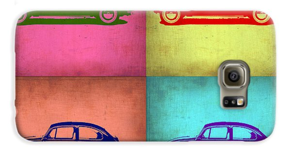 Vw Beetle Pop Art 1 Galaxy S6 Case by Naxart Studio