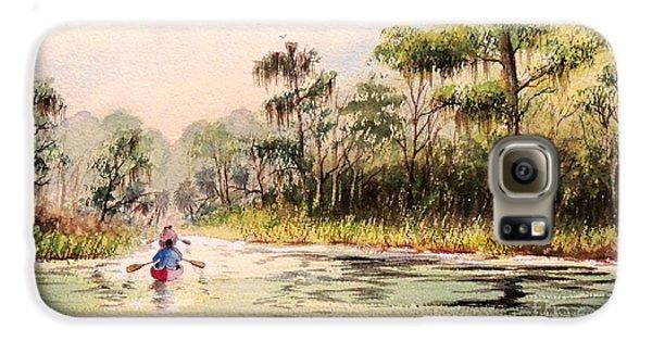 Wacissa River  Galaxy S6 Case by Bill Holkham