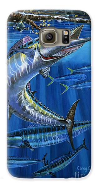 Wahoo Rip Off0047 Galaxy S6 Case by Carey Chen