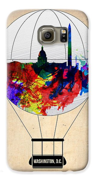 Washington D.c. Air Balloon Galaxy S6 Case by Naxart Studio