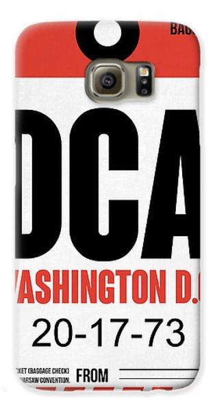 Washington D.c. Airport Poster 1 Galaxy S6 Case by Naxart Studio
