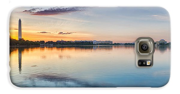 Washington Dc Panorama Galaxy S6 Case by Sebastian Musial