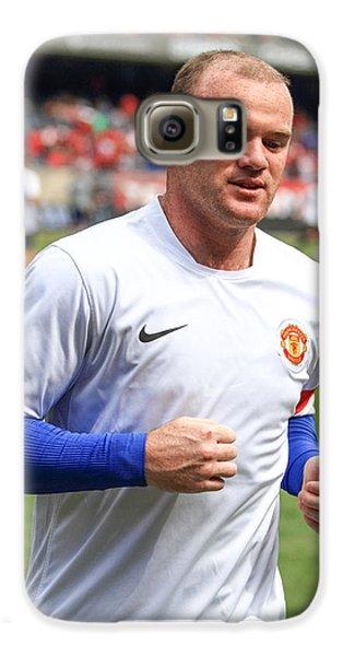 Wayne Rooney 5 Galaxy S6 Case by Keith R Crowley