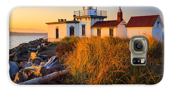 West Point Lighthouse Galaxy S6 Case by Inge Johnsson
