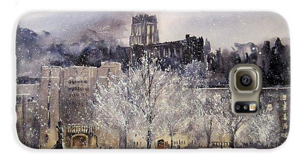 West Point Winter Galaxy S6 Case by Sandra Strohschein