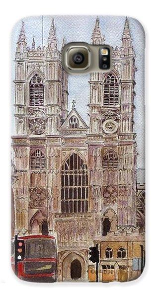 Westminster Abbey Galaxy S6 Case by Henrieta Maneva