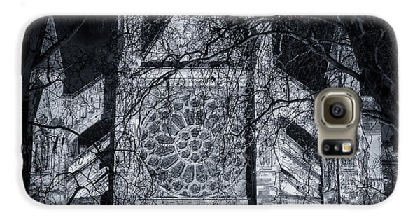 Westminster Abbey North Transept Galaxy S6 Case by Joan Carroll