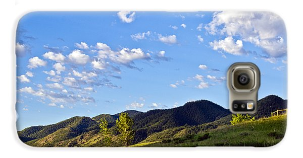When Clouds Meet Mountains Samsung Galaxy Case by Angelina Vick