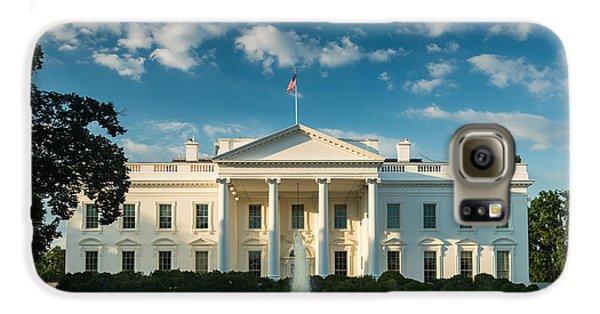 White House Sunrise Galaxy S6 Case by Steve Gadomski
