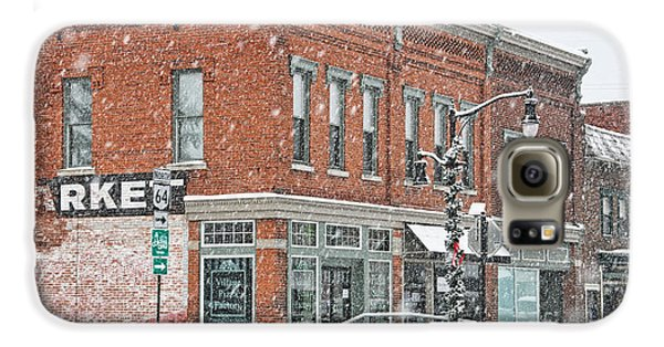 Whitehouse Ohio In Snow 7032 Galaxy S6 Case by Jack Schultz