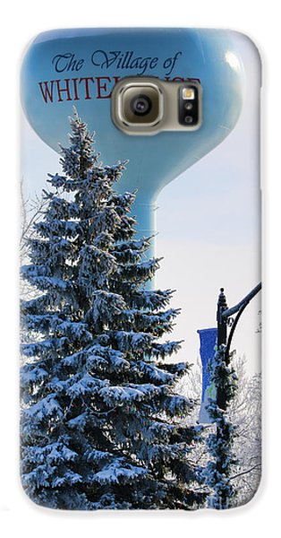 Whitehouse Water Tower  7361 Galaxy S6 Case by Jack Schultz