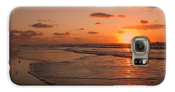 Wildwood Beach Sunrise II Galaxy S6 Case by David Dehner