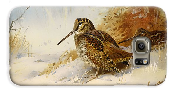 Winter Woodcock Galaxy S6 Case by Mountain Dreams