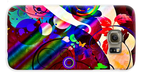 Wondrous At The End Of The Rainbow Samsung Galaxy Case by Angelina Vick