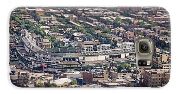 Wrigley Field - Home Of The Chicago Cubs Galaxy S6 Case by Adam Romanowicz