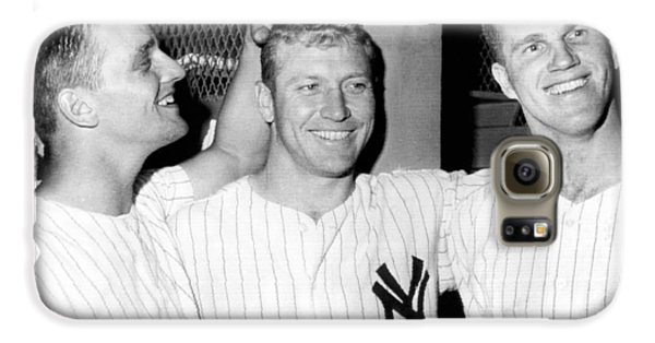 Yankees Celebrate Victory Galaxy S6 Case by Underwood Archives