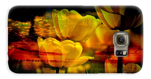 Yellow Dream Galaxy S6 Case by Marvin Blaine
