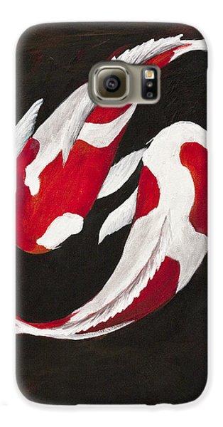 Yin And Yang Galaxy S6 Case by Darice Machel McGuire