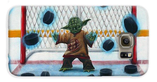 Yoda Saves Everything Galaxy S6 Case by Marlon Huynh