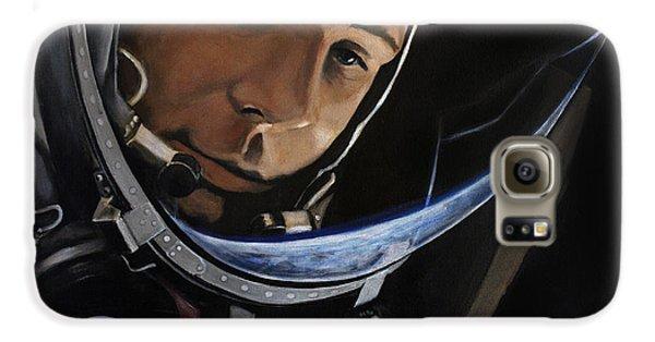 Yuri Alekseyevich Gagarin Galaxy S6 Case by Simon Kregar
