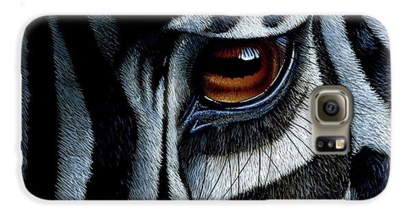 Zebra Galaxy S6 Case by Jurek Zamoyski