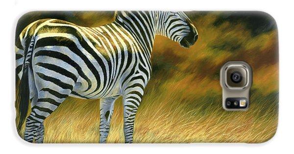 Zebra Galaxy S6 Case by Lucie Bilodeau