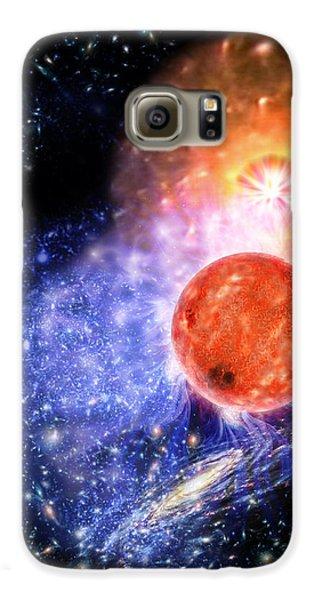 Cosmic Evolution Samsung Galaxy Case by Don Dixon