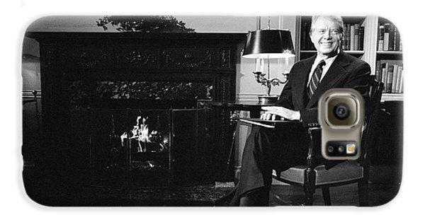 Jimmy Carter (1924- ) Galaxy S6 Case by Granger