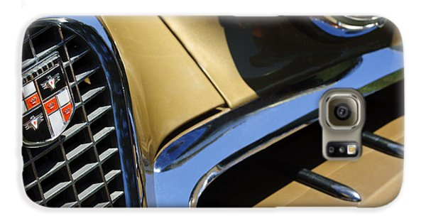 1957 Studebaker Golden Hawk Hardtop Grille Emblem Samsung Galaxy Case by Jill Reger