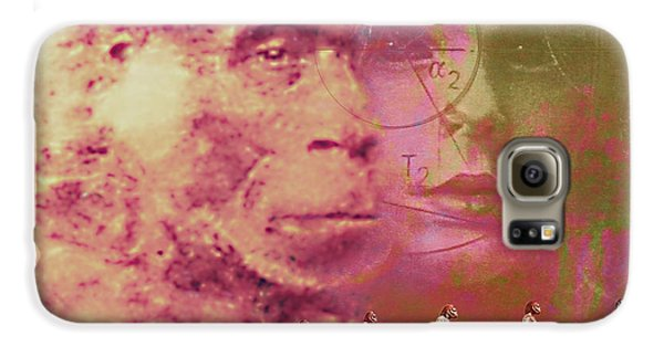 Evolution Galaxy S6 Case by Hans-ulrich Osterwalder